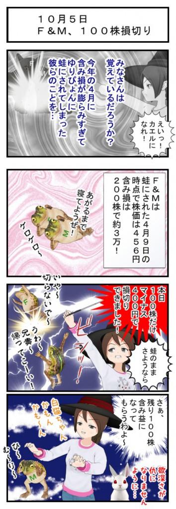 10月5日F&M損切り_001