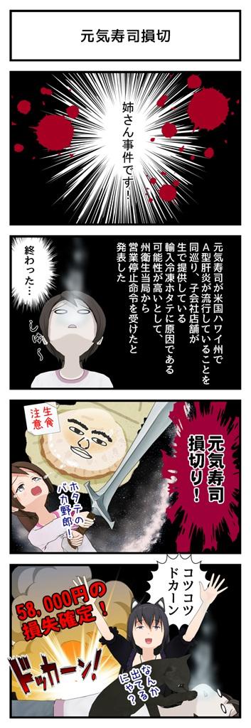 元気寿司損切_001